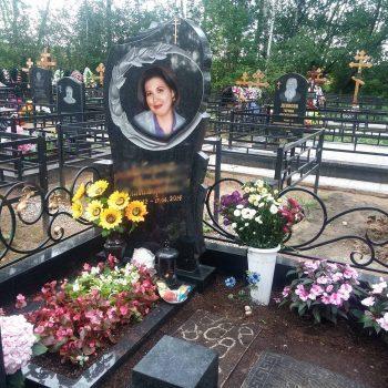 Цветной портрет на памятник