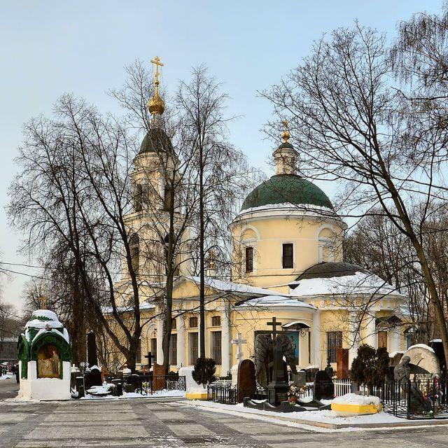 Ваганьковское кладбище: история и легенды