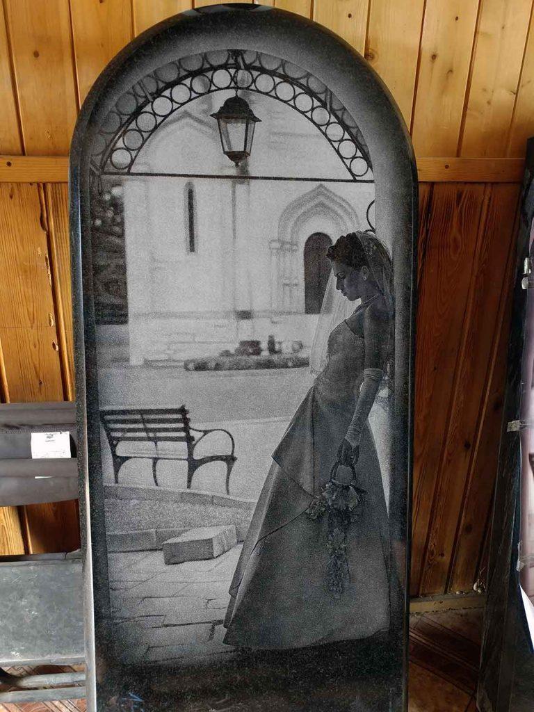 Графический портрет невесты